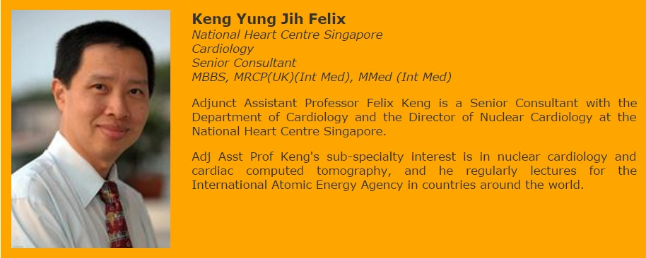 Senior Consultant of Cardiology Departement and Nuclear Cardiology at the National Heart Centre Singapore