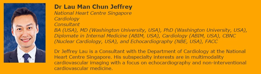 Consultant of cardiology departement at the National Heart Centre Singapore