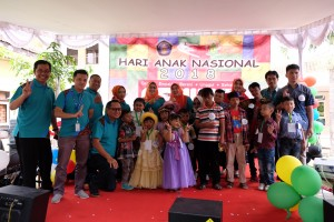 The joy of Pediatric Patients seen in the Celebration of 2018 National Children's Day