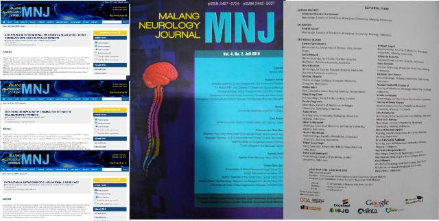 Malang Neurology Journal  Vo. 4 No. 2, Juli 2018.