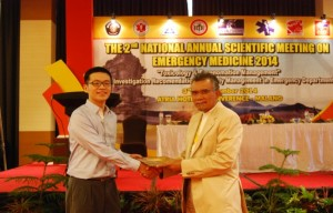 Juara 1 Free Paper dalam  5th annual scientic meeting of indonesian society of thoracic radiology